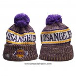 Berretti Los Angeles Lakers Viola Bianco2