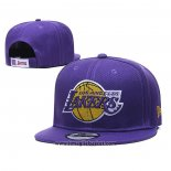 Cappellino Los Angeles Lakers 9FIFTY Snapback Viola2