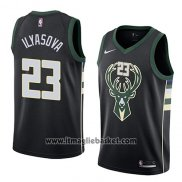 Maglia Milwaukee Bucks Ersan Ilyasova No 23 Statement 2018 Nero