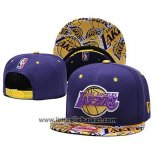 Cappellino Los Angeles Lakers 9FIFTY Snapback Giallo Viola