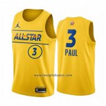 Maglia All Star 2021 Phoenix Suns Chris Paul No 3 Or