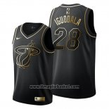 Maglia Golden Edition Miami Heat Andre Iguodala No 28 2019-20 Nero