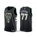 Maglia Milwaukee Bucks Ersan Ilyasova NO 77 Statement Nero