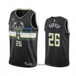 Maglia Milwaukee Bucks Kyle Korver No 26 Statement 2020-21 Nero