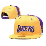 Cappellino Los Angeles Lakers Giallo2