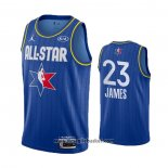 Maglia All Star 2020 Los Angeles Lakers Lebron James No 23 Blu
