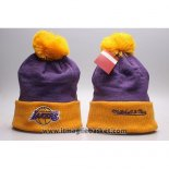 Berretti Los Angeles Lakers Viola Giallo