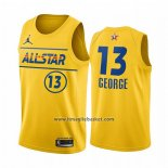 Maglia All Star 2021 Los Angeles Clippers Paul George No 13 Or