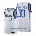 Maglia Dallas Mavericks Willie Cauley-stein No 33 Association 2020 Bianco