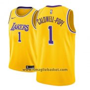 Maglia Los Angeles Lakers Kentavious Caldwell-pope No 1 Icon 2018-19 Or