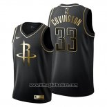 Maglia Golden Edition Houston Rockets Robert Covington No 33 2019-20 Nero