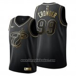 Maglia Golden Edition Miami Heat Jae Crowder No 99 2019-20 Nero
