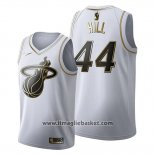 Maglia Golden Edition Miami Heat Solomon Hill No 44 2019-20 Bianco