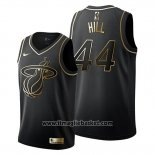 Maglia Golden Edition Miami Heat Solomon Hill No 44 2019-20 Nero