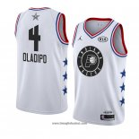 Maglia All Star 2019 Indiana Pacers Victor Oladipo No 4 Bianco