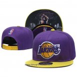Cappellino Los Angeles Lakers Kobe Bryant 9FIFTY Snapback Viola Giallo
