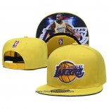 Cappellino Los Angeles Lakers Lebron James 9FIFTY Snapback Amarill