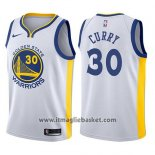Maglia Bambino State Golden State Warriors Stephen Curry NO 30 Bianco