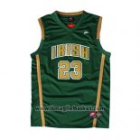 Maglia St. Vincent-st. Mary Lebron James No 23 Bianco