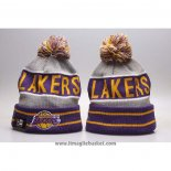 Berretti Los Angeles Lakers Viola Grigio