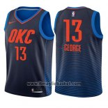 Maglia Bambino Oklahoma City Thunder Paul George No 13 Statement 2017-18 Blu