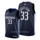 Maglia Dallas Mavericks Willie Cauley-stein No 33 Statement 2020 Blu