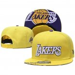 Cappellino Los Angeles Lakers 9FIFTY Snapback Giallo Viola Bianco