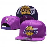 Cappellino Los Angeles Lakers 9FIFTY Snapback Viola3