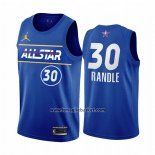 Maglia All Star 2021 New York Knicks Julius Randle No 30 Blu