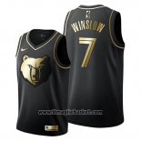 Maglia Golden Edition Memphis Grizzlies Justise Winslow No 7 2019-20 Nero