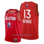 Maglia All Star 2020 Los Angeles Clippers Paul George No 13 Rosso