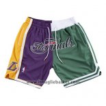 Pantaloncini Lakers Vs Celtics Just Don 2008 NBA Finals