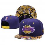 Cappellino Los Angeles Lakers 9FIFTY Snapback Viola Giallo
