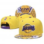 Cappellino Los Angeles Lakers Giallo3