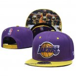 Cappellino Los Angeles Lakers Kobe Bryant 9FIFTY Viola Giallo
