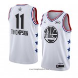 Maglia All Star 2019 Golden State Warriors Klay Thompson No 11 Bianco