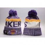 Berretti Los Angeles Lakers Viola Bianco