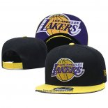 Cappellino Los Angeles Lakers 9FIFTY Snapback Nero Giallo