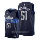 Maglia Dallas Mavericks Boban Marjanovic No 51 Statement Blu
