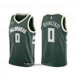 Maglia Milwaukee Bucks Donte Divincenzo NO 0 Icon Verde