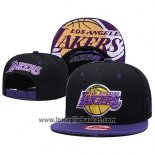Cappellino Los Angeles Lakers 9FIFTY Snapback Nero Viola