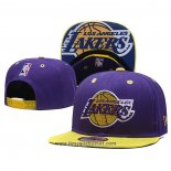 Cappellino Los Angeles Lakers 9FIFTY Snapback Viola Or