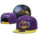 Cappellino Los Angeles Lakers Kobe Bryant 9FIFTY Snapback Viola
