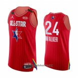 Maglia All Star 2020 Boston Celtics Kemba Walker No 24 Autentico Rosso