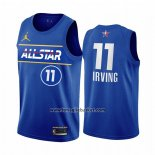 Maglia All Star 2021 Brooklyn Nets Kyrie Irving No 11 Blu