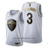 Maglia Golden Edition Cleveland Cavaliers Andre Drummond No 3 2019-20 Bianco