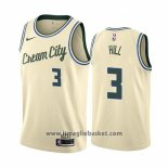 Maglia Milwaukee Bucks George Hill No 3 Citta Crema