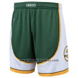 Pantaloncini Seattle Supersonics Hardwood Classics Verde